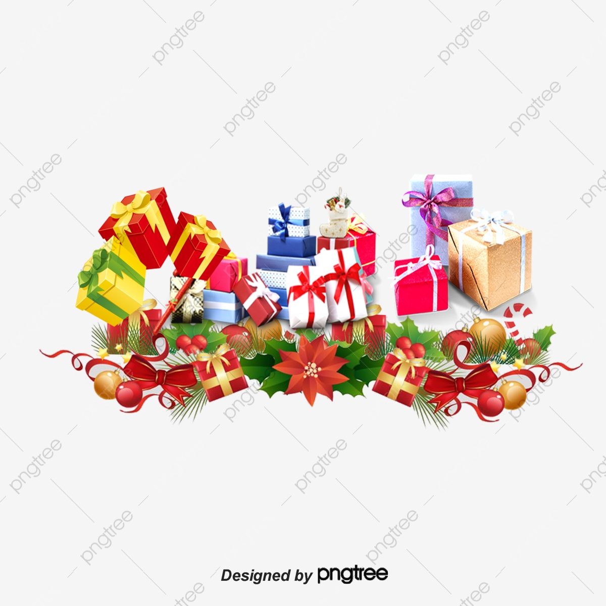 Christmas Gift Box Png.Christmas Gift Box Packaging Gift Clipart Christmas