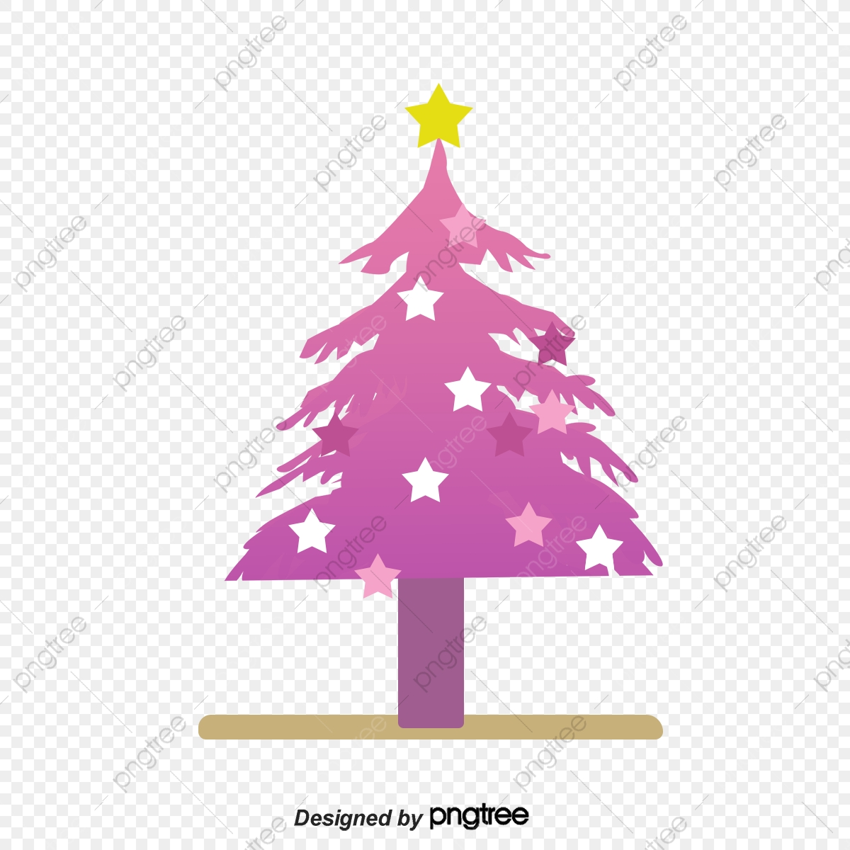 100 Gambar Pohon Natal Abstrak HD