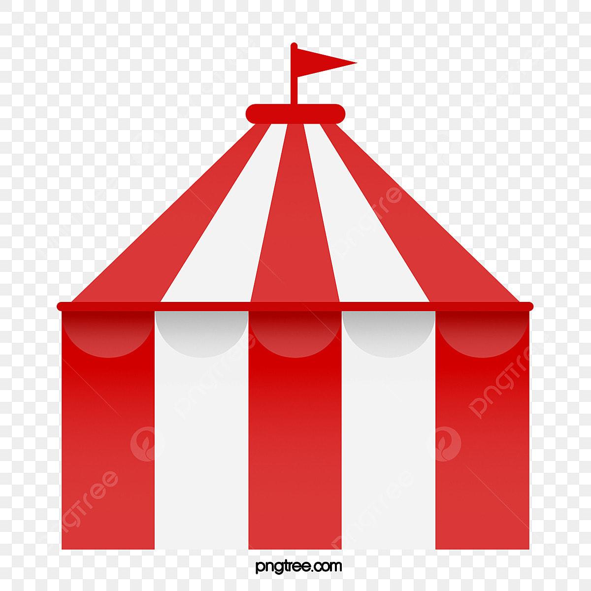 Uma Tenda De Circo O Circo Tenda Ger Png E Vetor Para Download