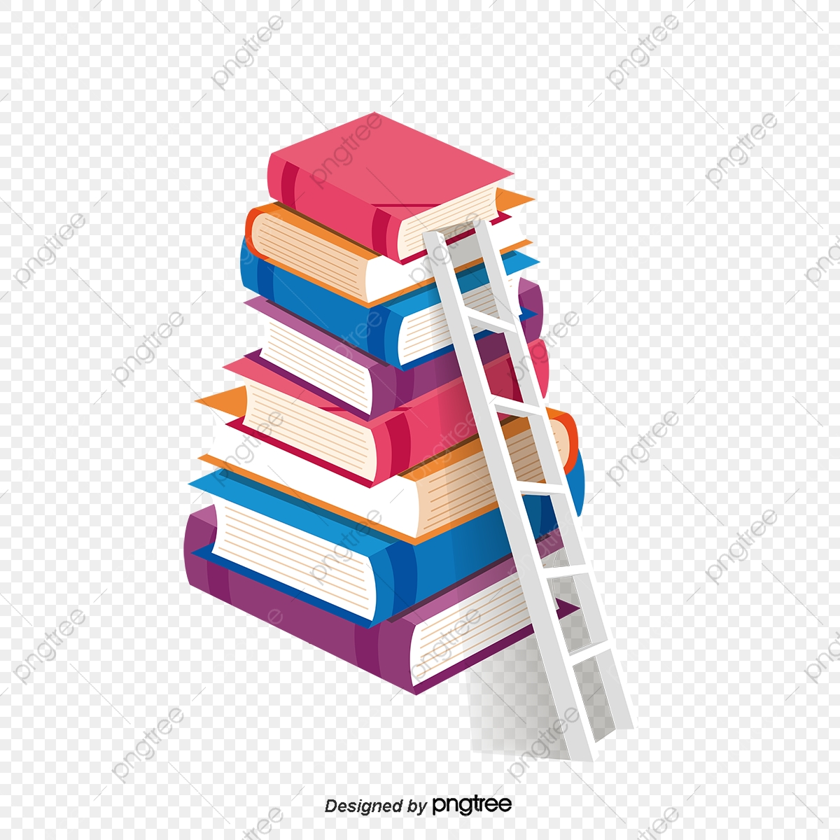 Continental Creative Educational Learning Books Ladder Continental Education Learn Png And Vector With Transparent Background For Free Download