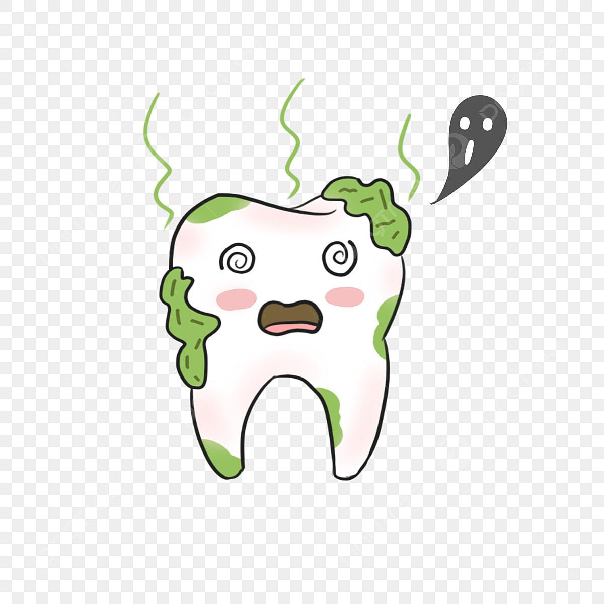 الكرتون الإبداعية تسوس الأسنان رسوم متحركة الأسنان سن Png وملف Psd للتحميل مجانا