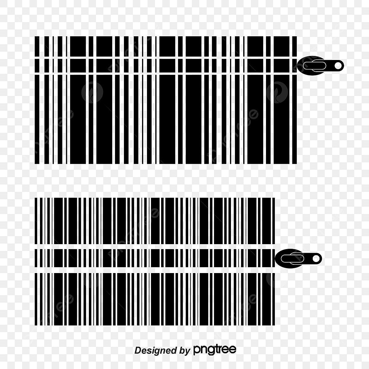 Creative Design Barcode, Barcode Vector, Creative, Design