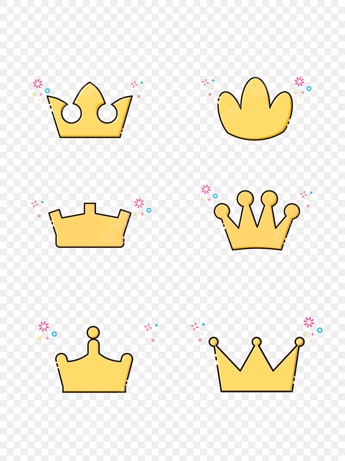 A Coroa A Coroa Pintura De Desenhos Animados Vector Png E
