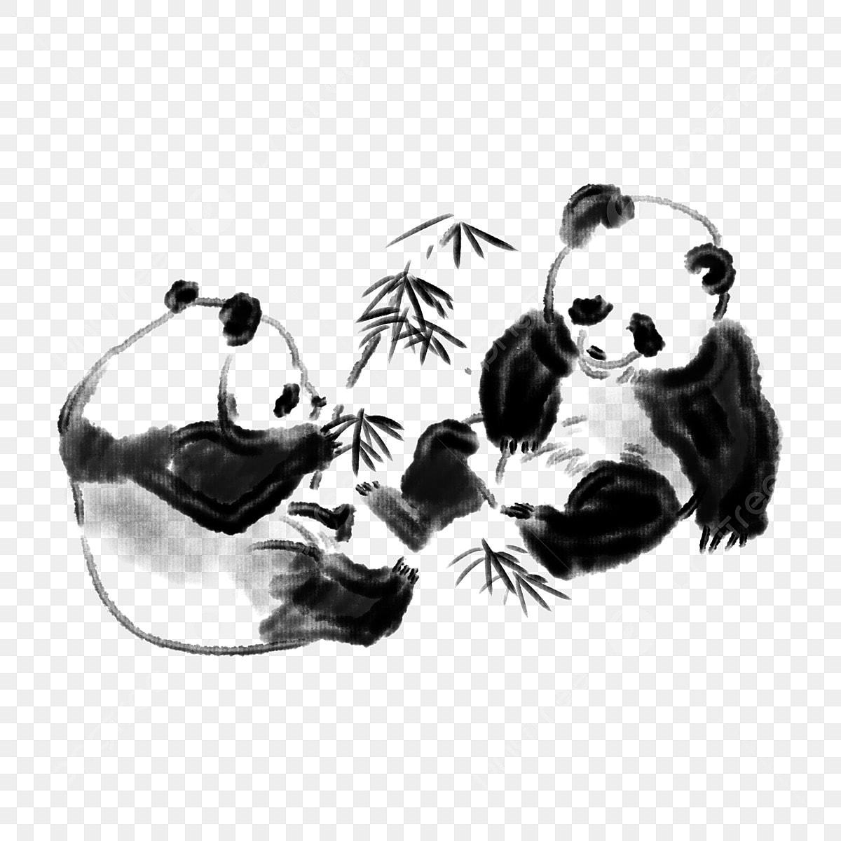 Joli Dessin Panda Panda Animal Dessin Fichier Png Et Psd