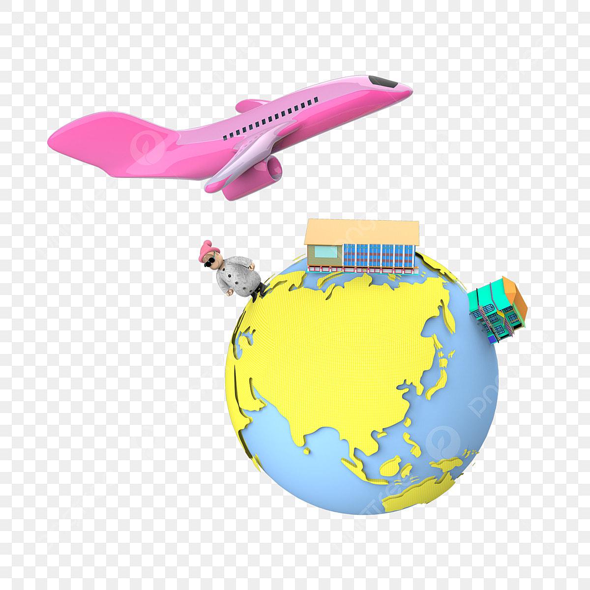 de la terre et de l avion avion de la terre les nuages