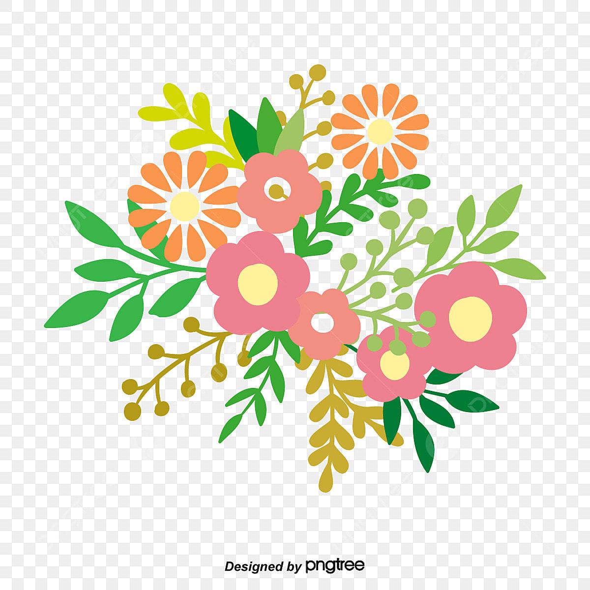 Exquisito Patron De Flor De Diseño De Vectores Gratis