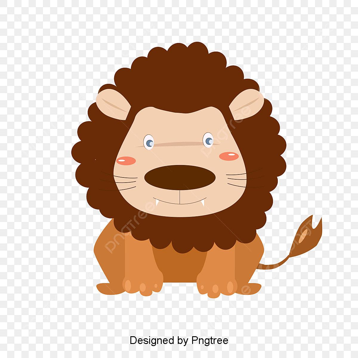 Um Leao Feroz Na Animal O Rei Da Floresta Arquivo Png E Psd