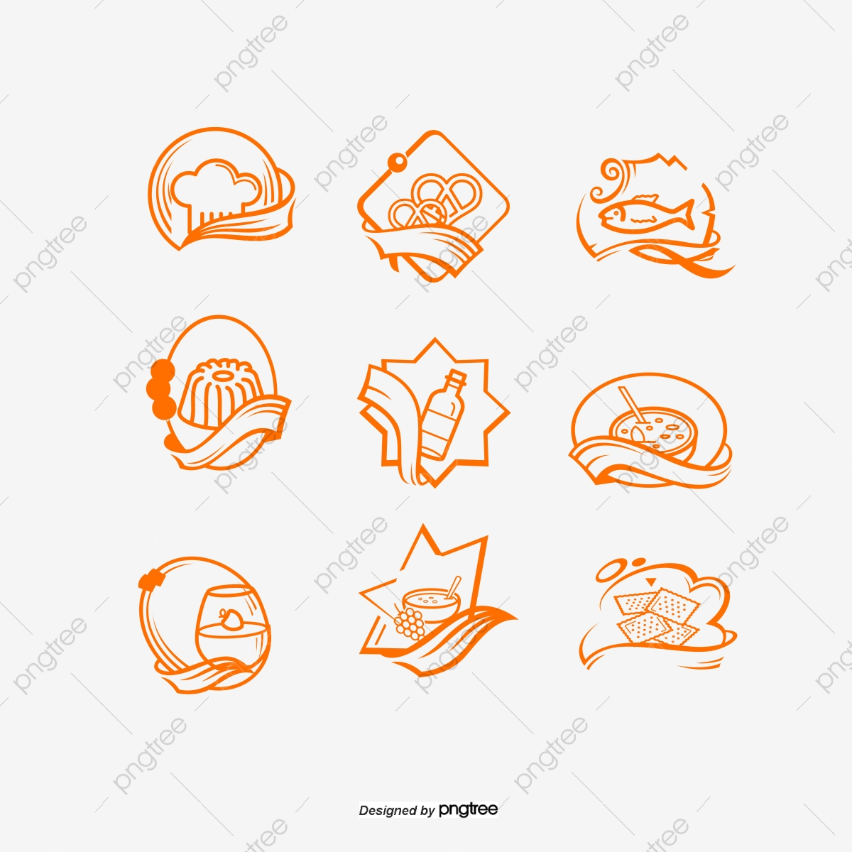 Food Icon Image, Mark, Food, Dining PNG and Vector with