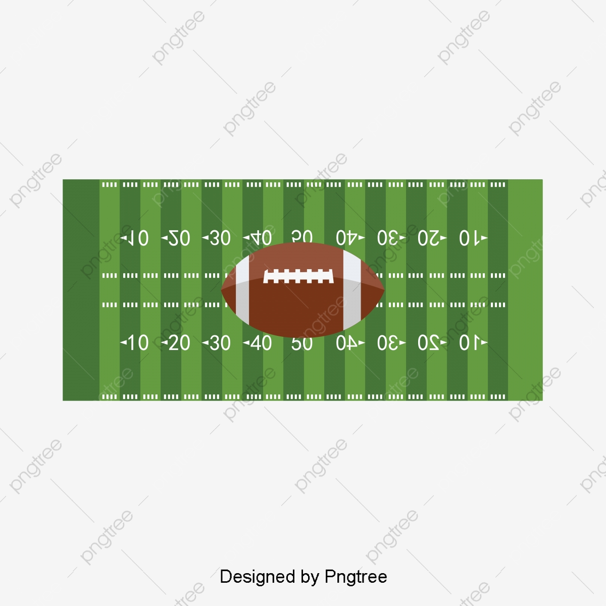 Football Field, Football Clipart, Green Background PNG and Vector with  Transparent Background for Free Download