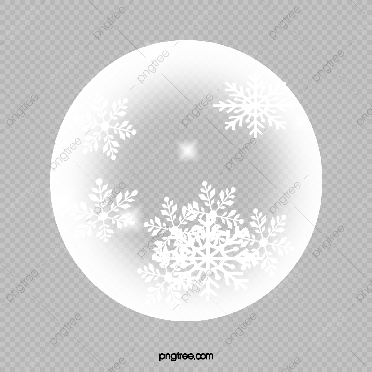 Full Moon Moon Clipart White Winter Png Transparent