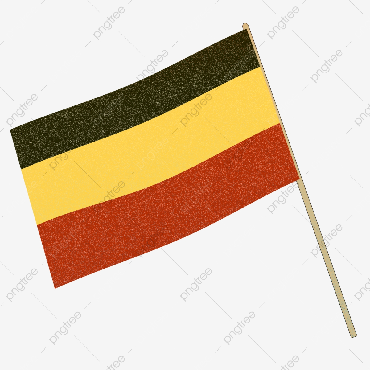 German Flag Streamers Germany Flag Ribbon Png Transparent Image And Clipart For Free Download