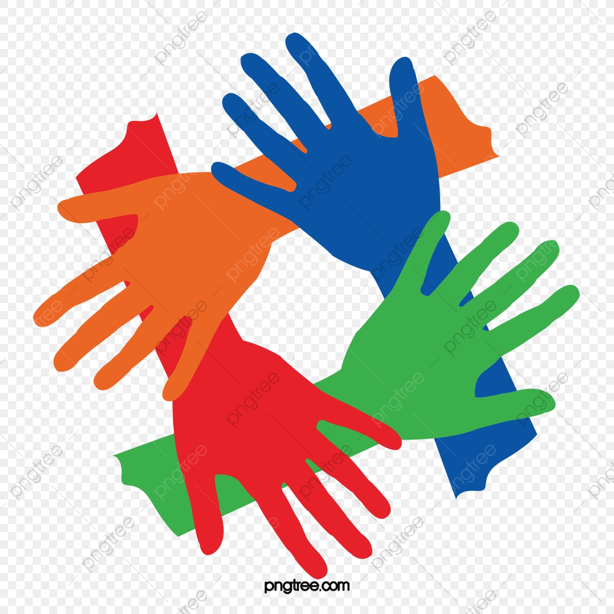 Gesture Of Solidarity, Hand, Unity, Cooperation PNG and Vector with