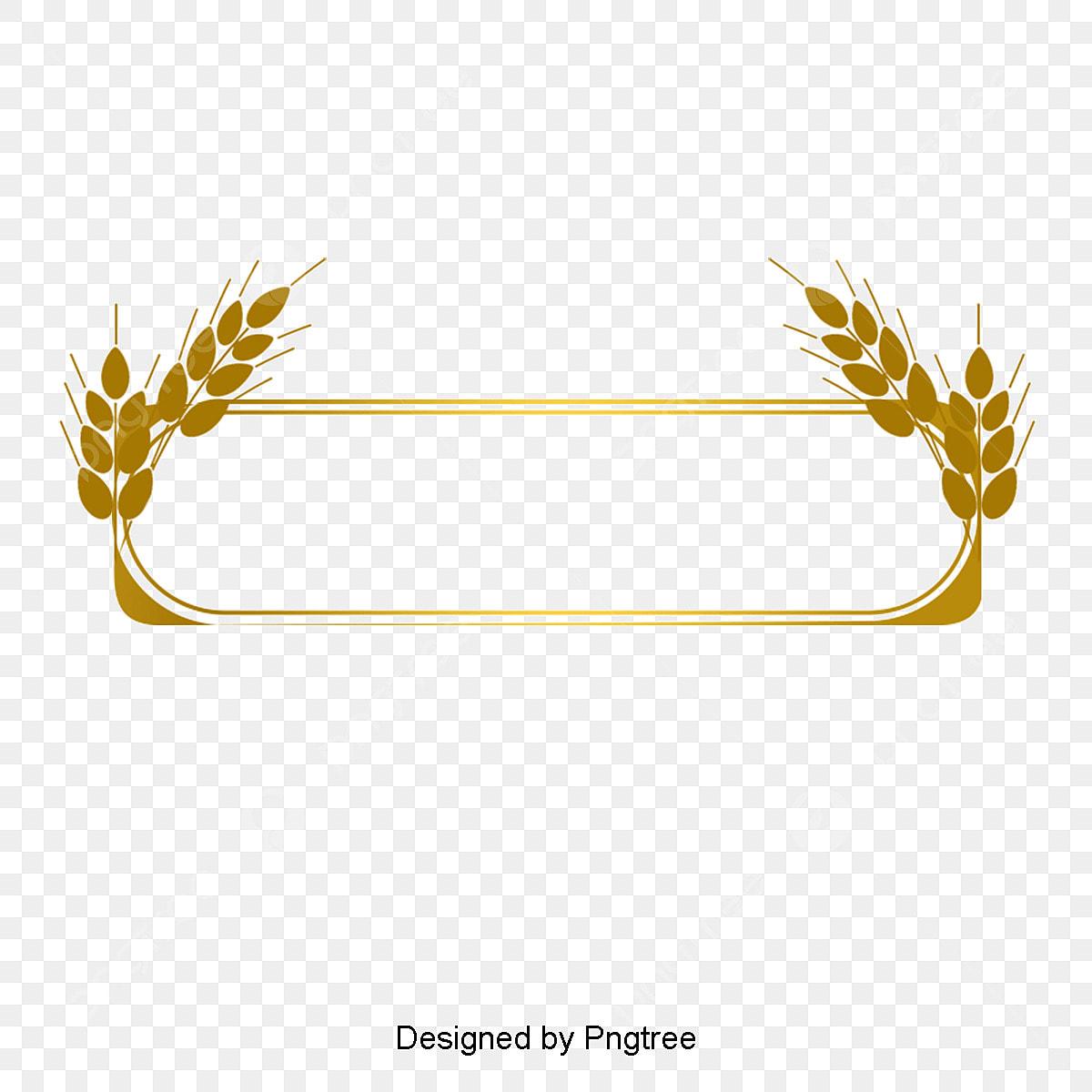 Gold Line Border, Gold Dendrite, Gold Frame, Euporean Pattern PNG Transparent Clipart ...