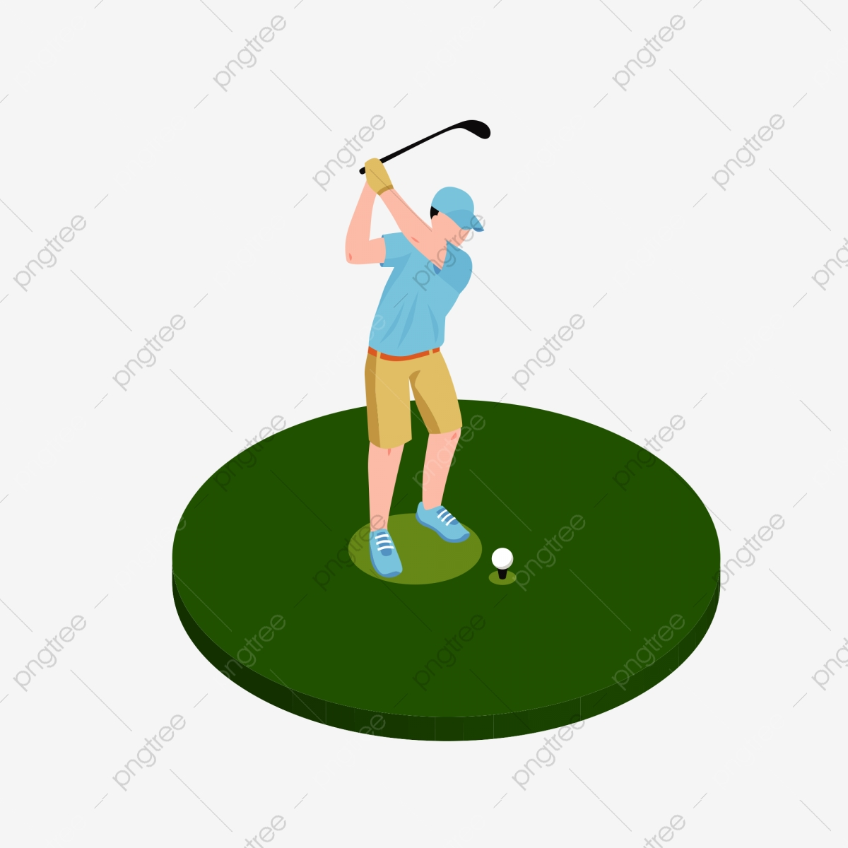 Golf Golf Clipart Movement Png And Vector With Transparent Background For Free Download