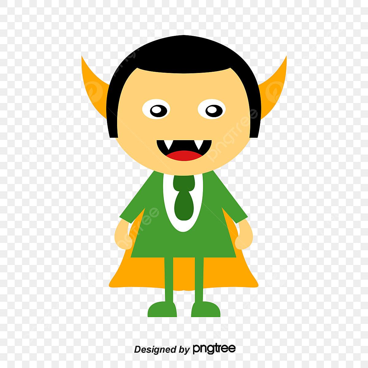 100 Pictures Cartoon Characters halloween cartoon characters vector material, halloween