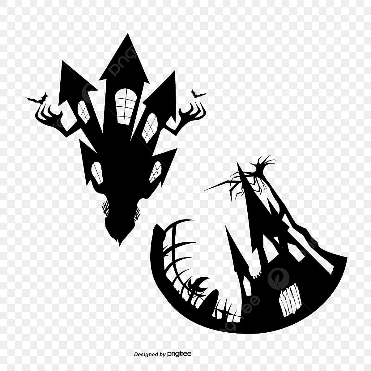 halloween halloween la maison hant u00e9e la chambre noire png et vecteur pour t u00e9l u00e9chargement gratuit