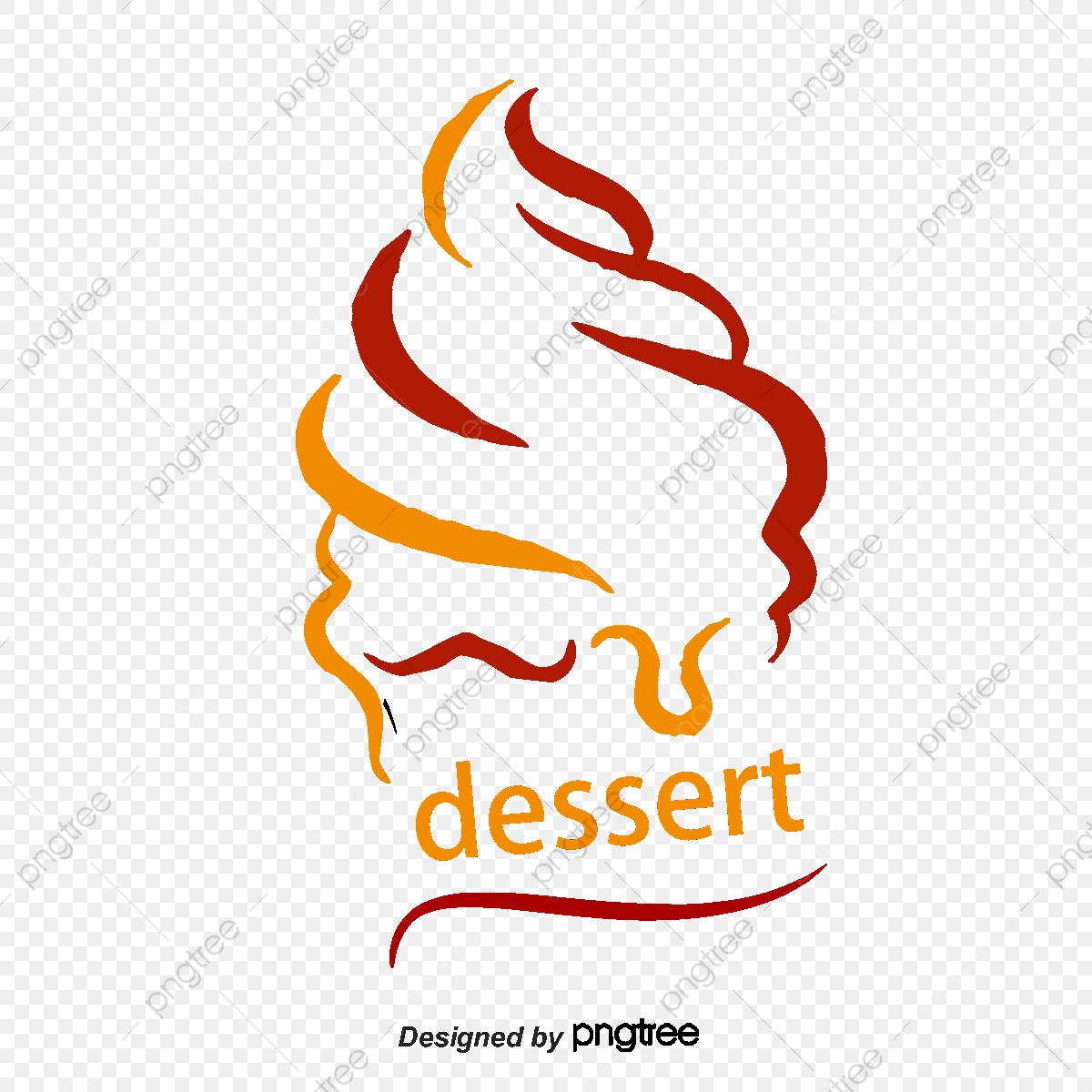 Dessert Logo, Vector, Logo, Logo Vector PNG and Vector with