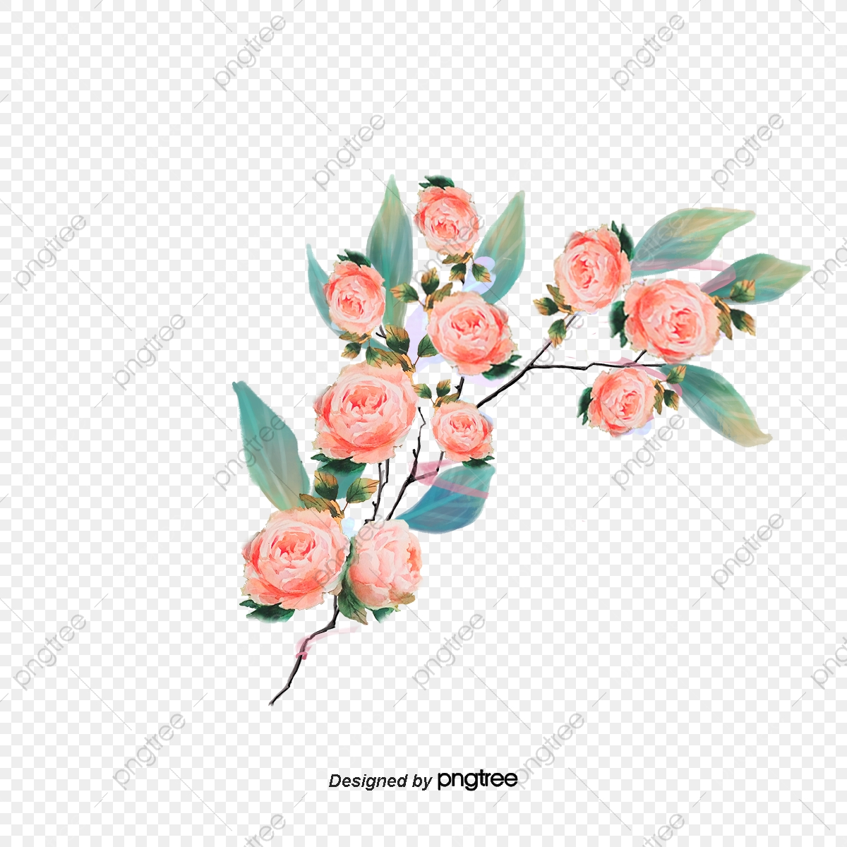 La République De Corée Des Fleurs Blanches Réaliste De