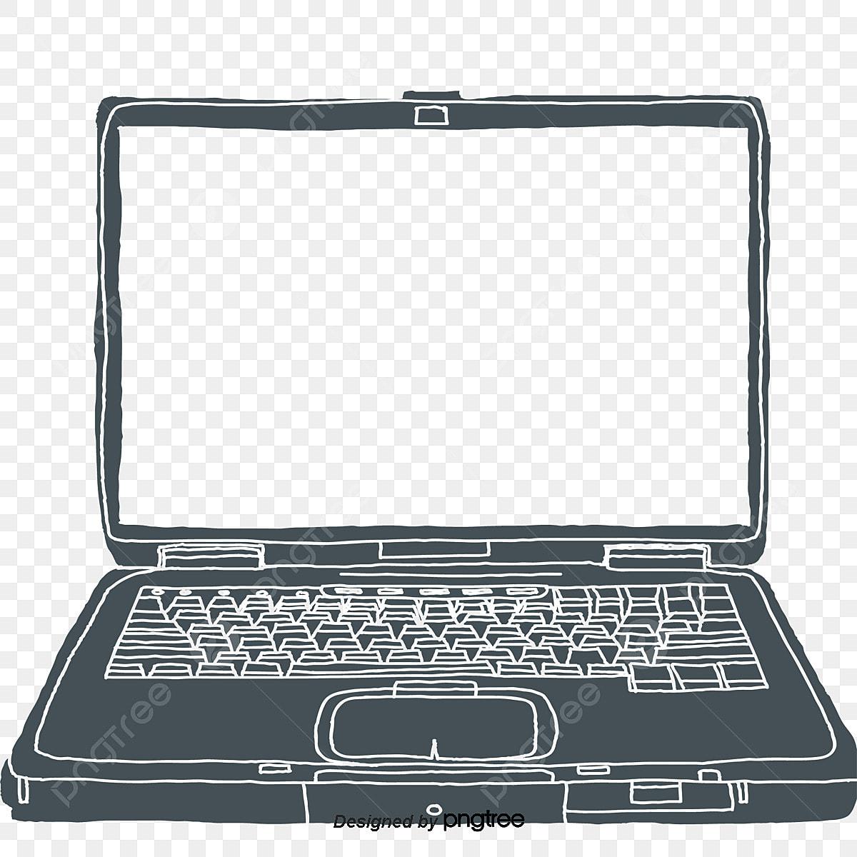 Gambar Komputer Riba Clipart