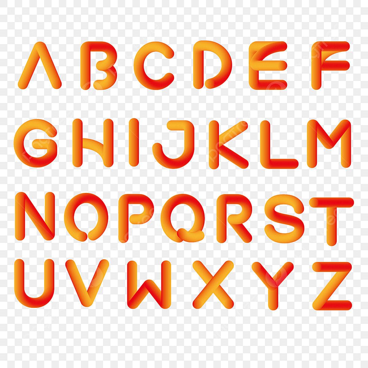 無料ダウンロードのためのアルファベット アルファベット 英文 立体png