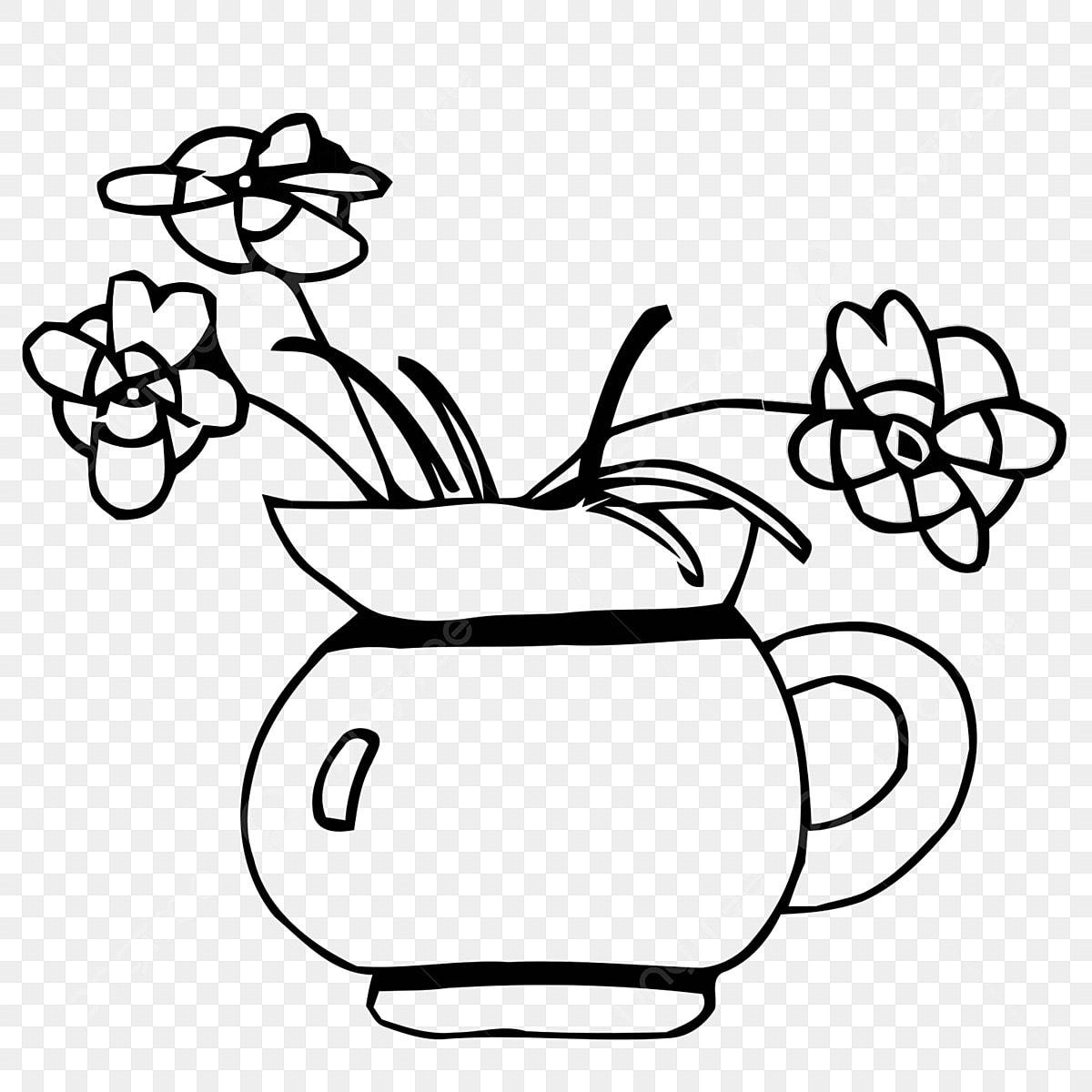 Des Fleurs Dessin Fleur Noir Et Blanc Fichier Png Et Psd