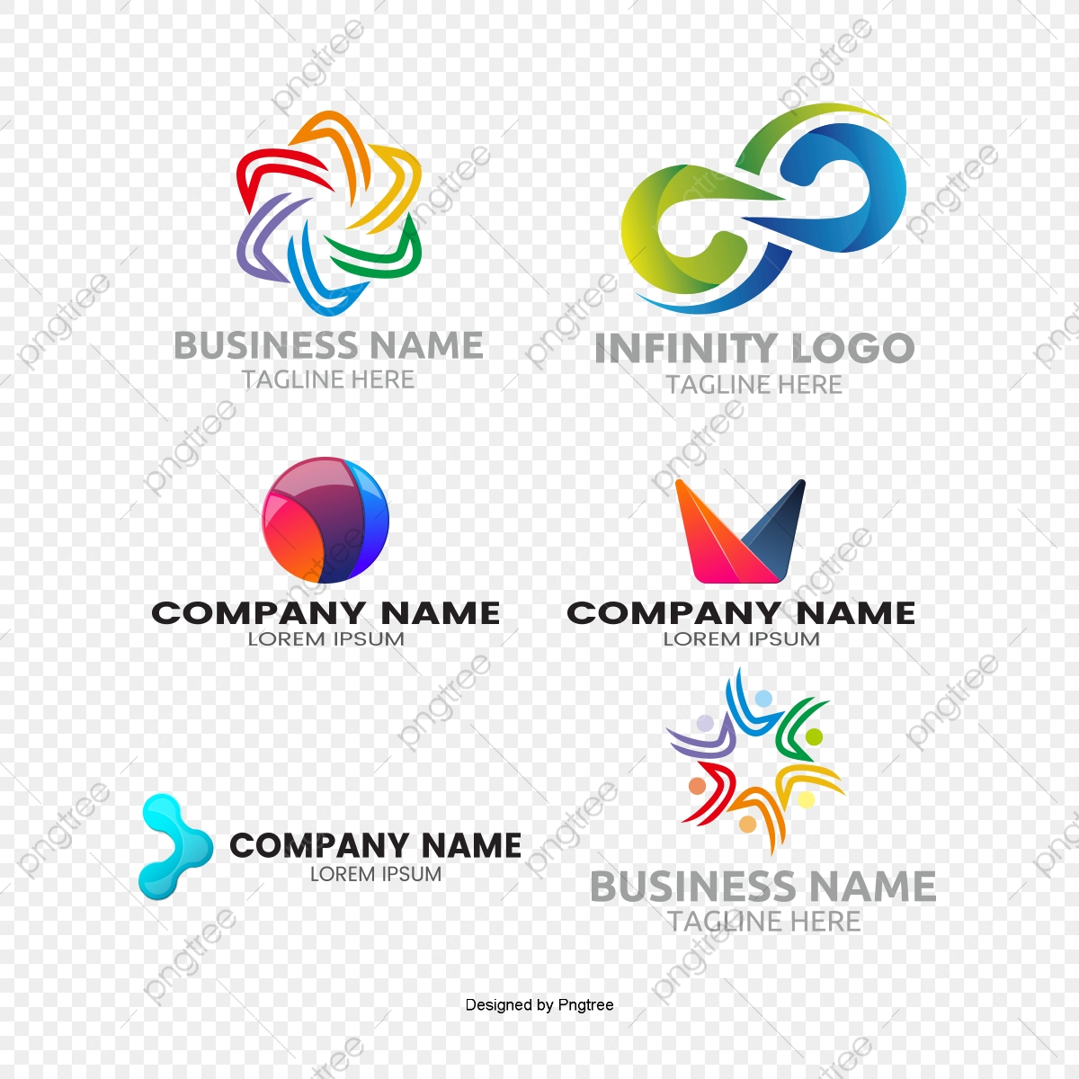 Logo Logo Design Vector Round Free Logo Design Template Mark Logo Design Material Geometry Png Transparent Clipart Image And Psd File For Free Download