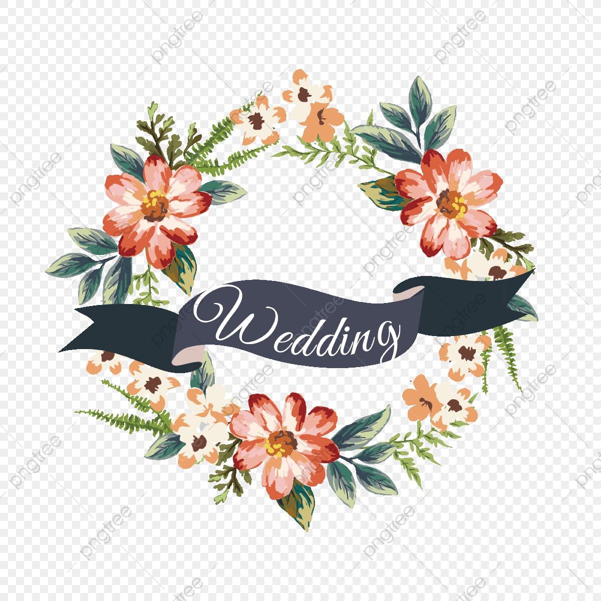 Multiple Flower Clipart Wedding