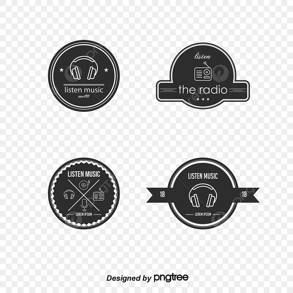 0b2376f72 موضوع الموسيقى ناقلات المواد نمط التسمية شعار شارة الوشم العلم رمز ...