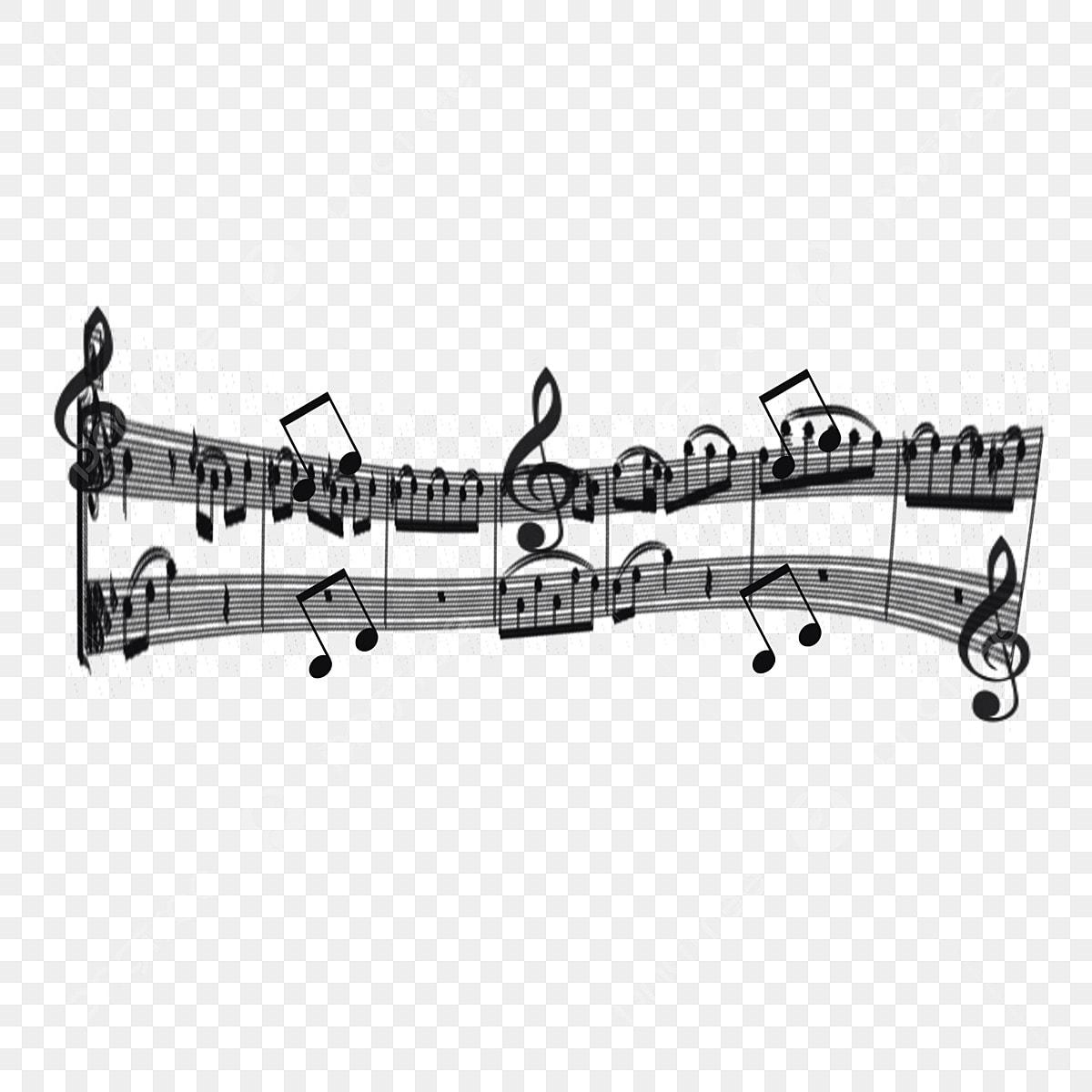 無料ダウンロードのための音符 音符 五線譜 楽譜png画像素材