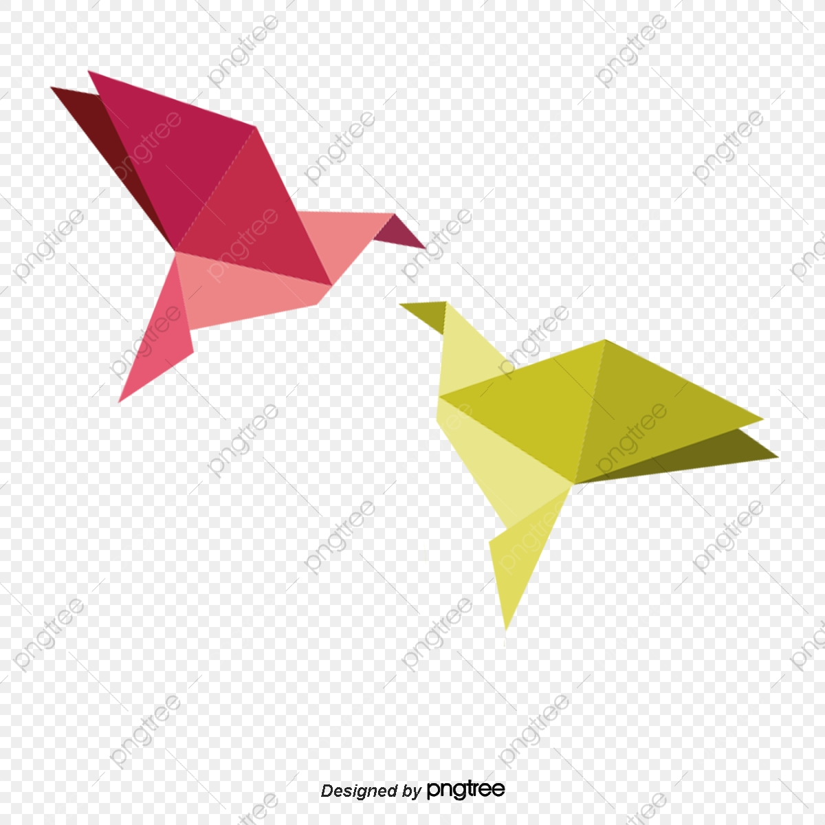 Step by step instructions how to make origami a bird. | 1200x1200