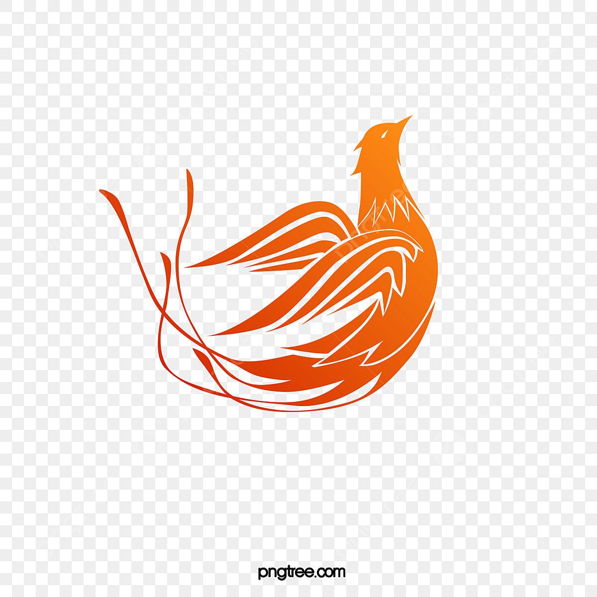 無料ダウンロードのための鳳凰マーク 鳥 赤い 神獣png画像素材