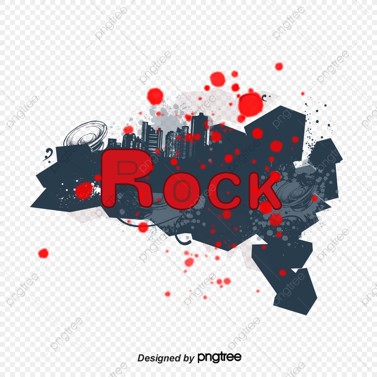 Rock, Music, Culture And Art PNG Transparent Clipart Image