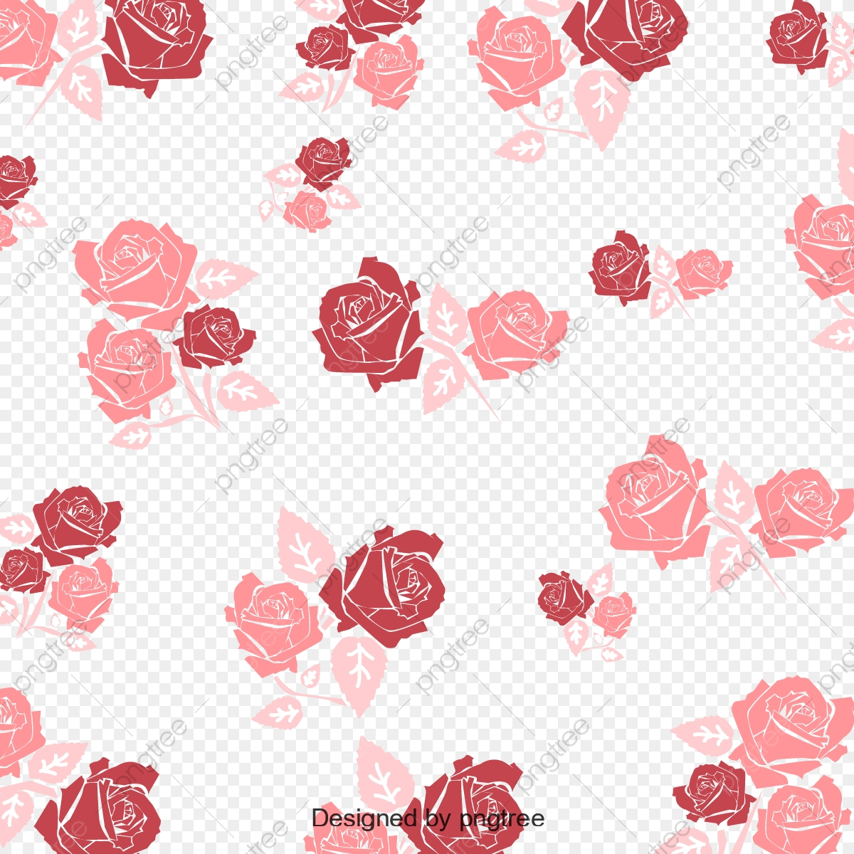 Rosa Patron Wallpaper Background Decoracion Vector Rose