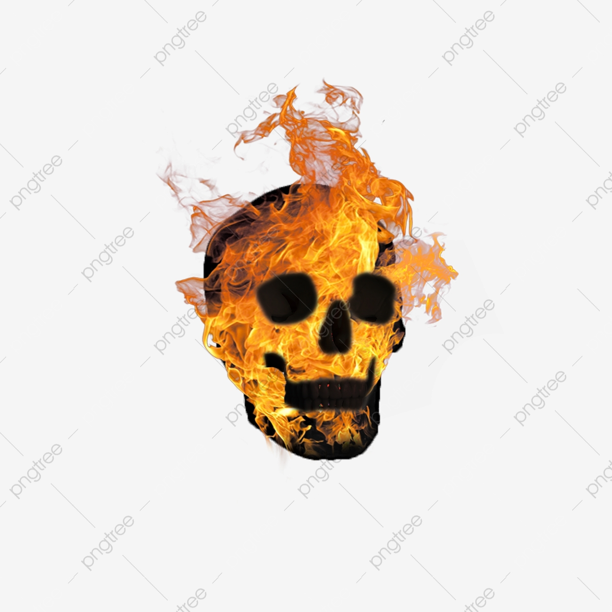 Skull Logo, Skull Clipart, Logo Clipart, Skull Element PNG