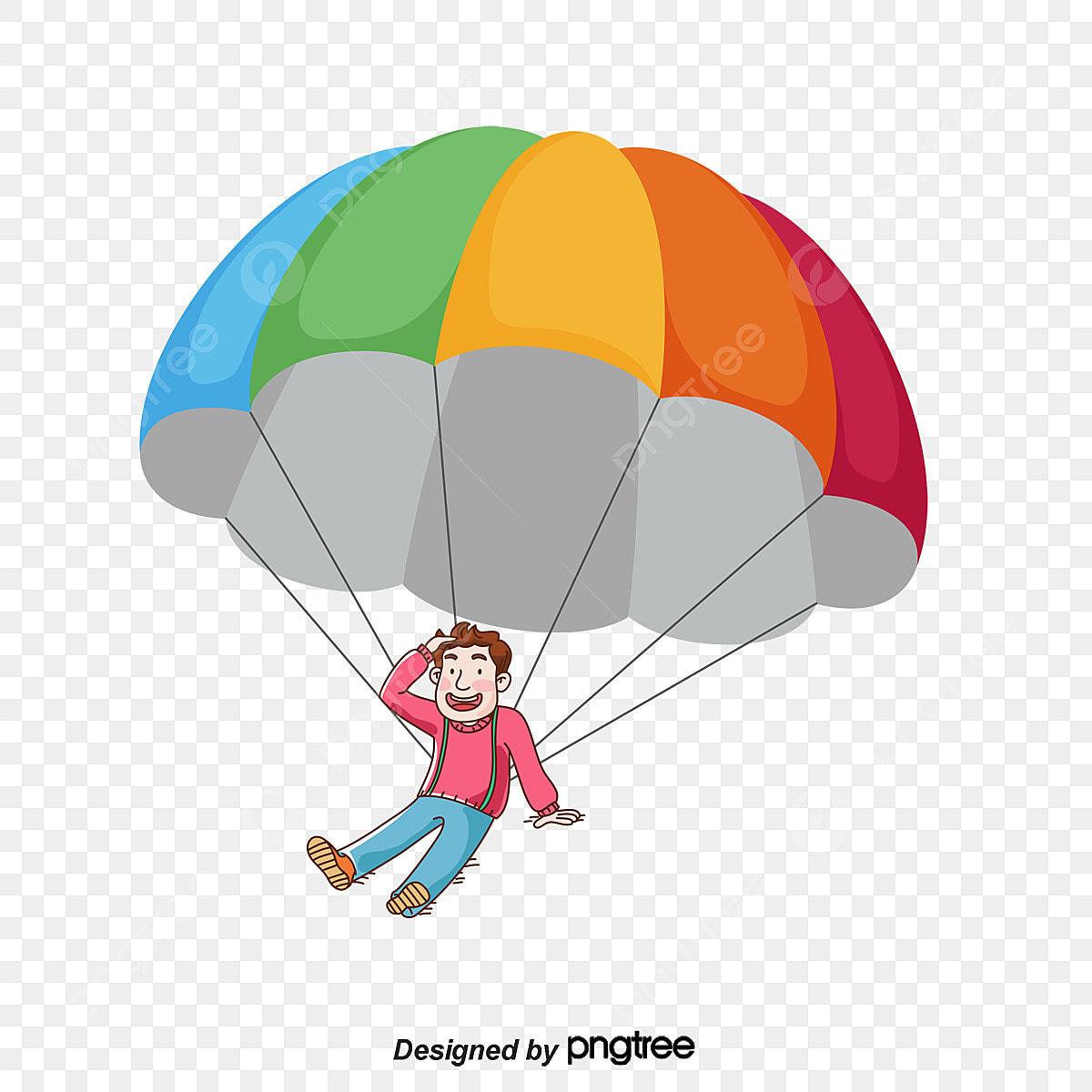 le gar u00e7on le gar u00e7on graphique vectoriel parachutisme png