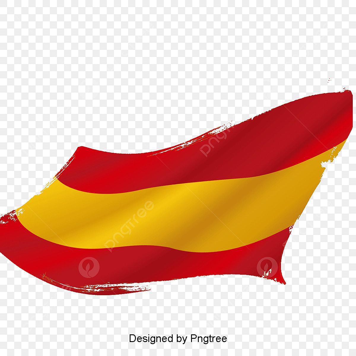 Bandera Espanola Vector Material Espana Bandera Vector De