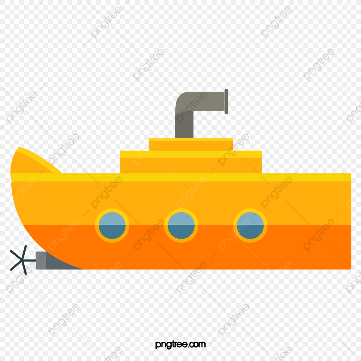 Submarine, Ferry, Cartoon PNG Transparent Clipart Image and PSD File