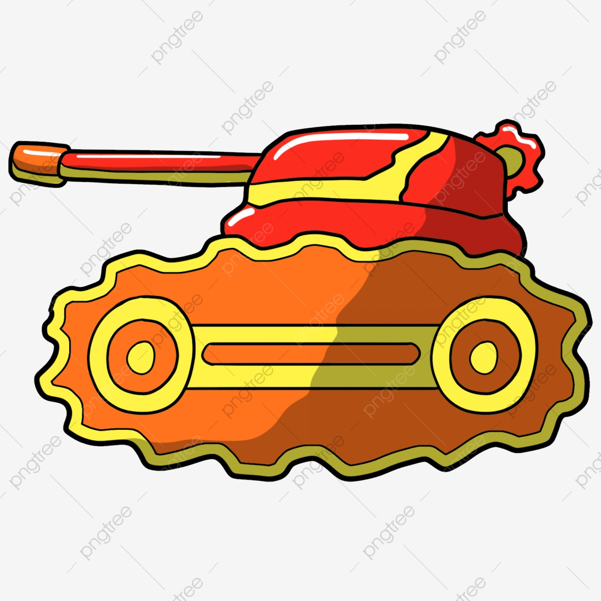 Tank Military Vehicle PNG Transparent Clipart Image And