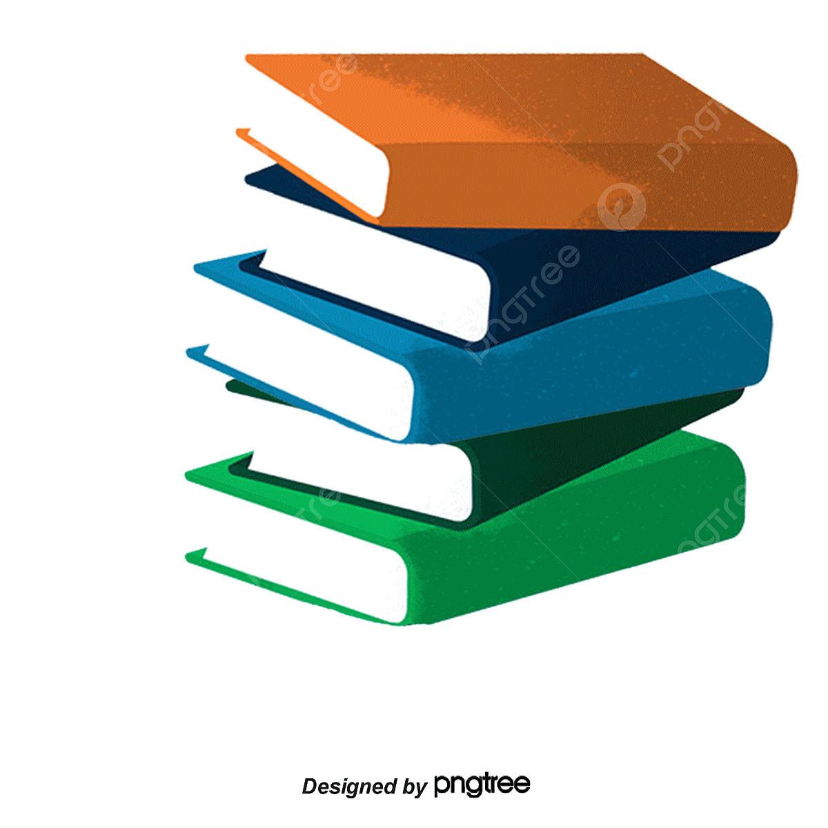 الكتب مكدسة المعرفة ورقة الكتاب المدرسي Png وملف Psd للتحميل مجانا
