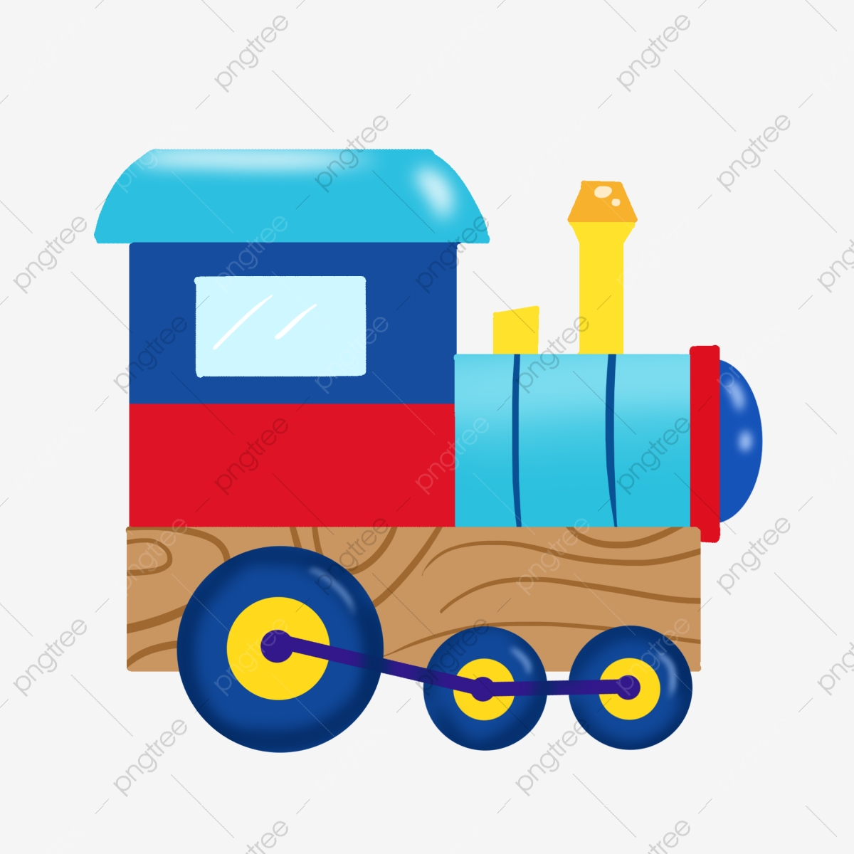 Toy Train Train Clipart Train Hand Painted Png Transparent Clipart Image And Psd File For Free Download