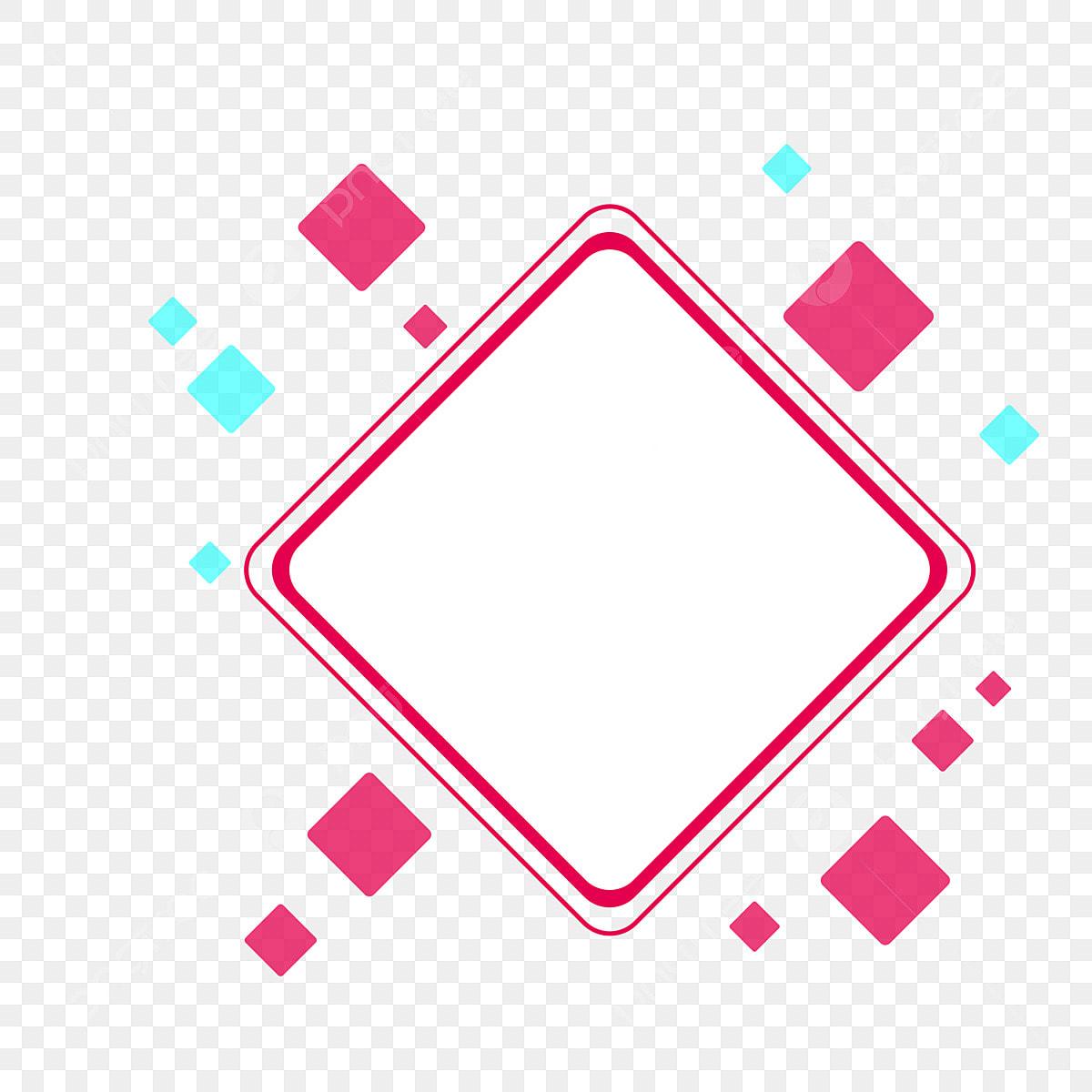 اشكال هندسية مربعات للتصميم Png