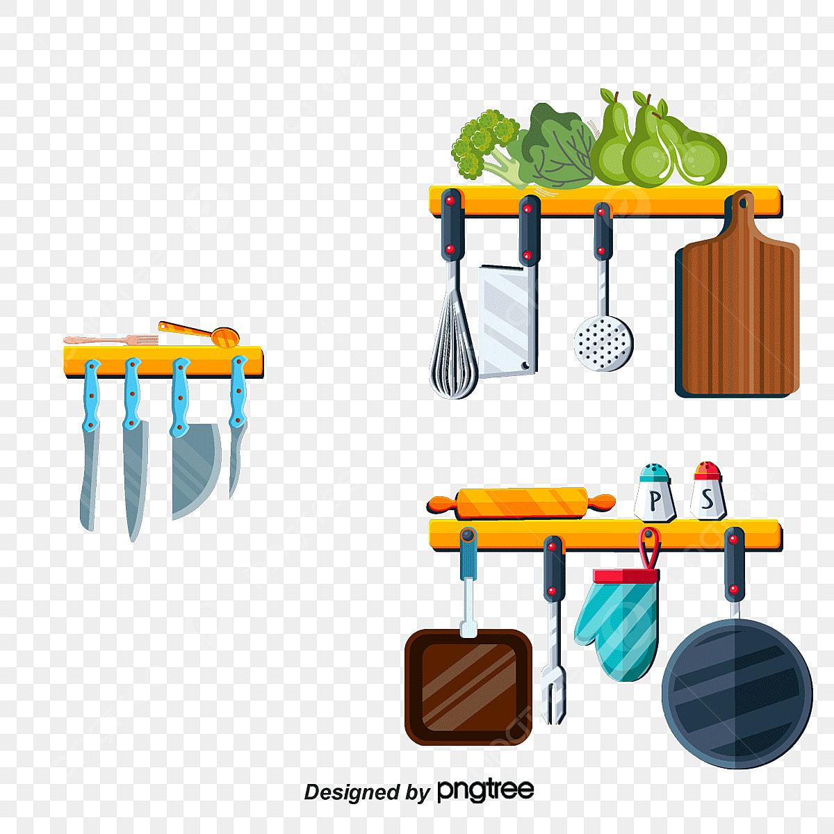 Online Kitchen Supplies: Vector Cartoon Kitchen Supplies, Cartoon Kitchen, Kitchen