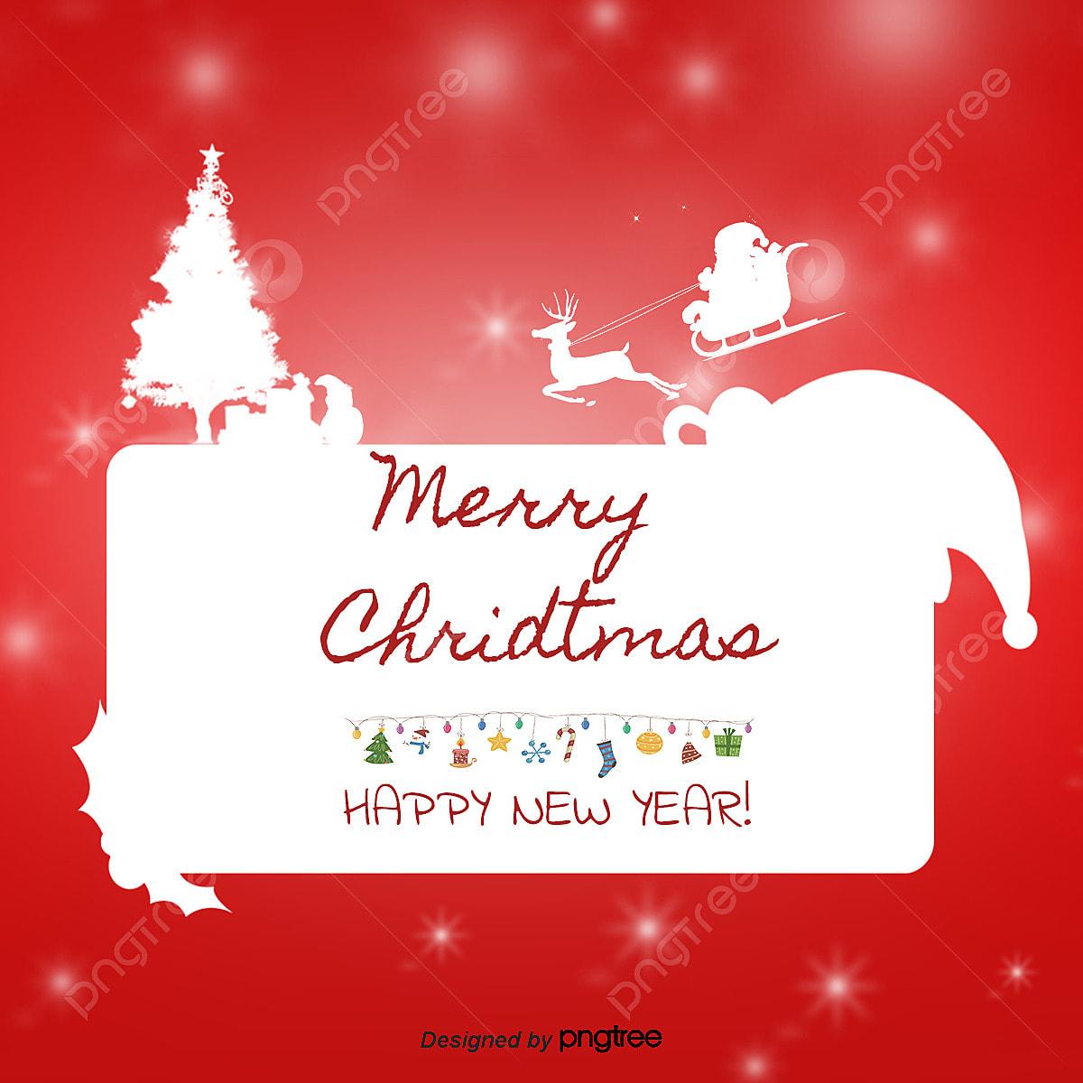 Descargar Felicitaciones De Navidad Y Ano Nuevo Gratis.Vector Tarjeta De Felicitacion Navidad Ano Nuevo Tarjetas