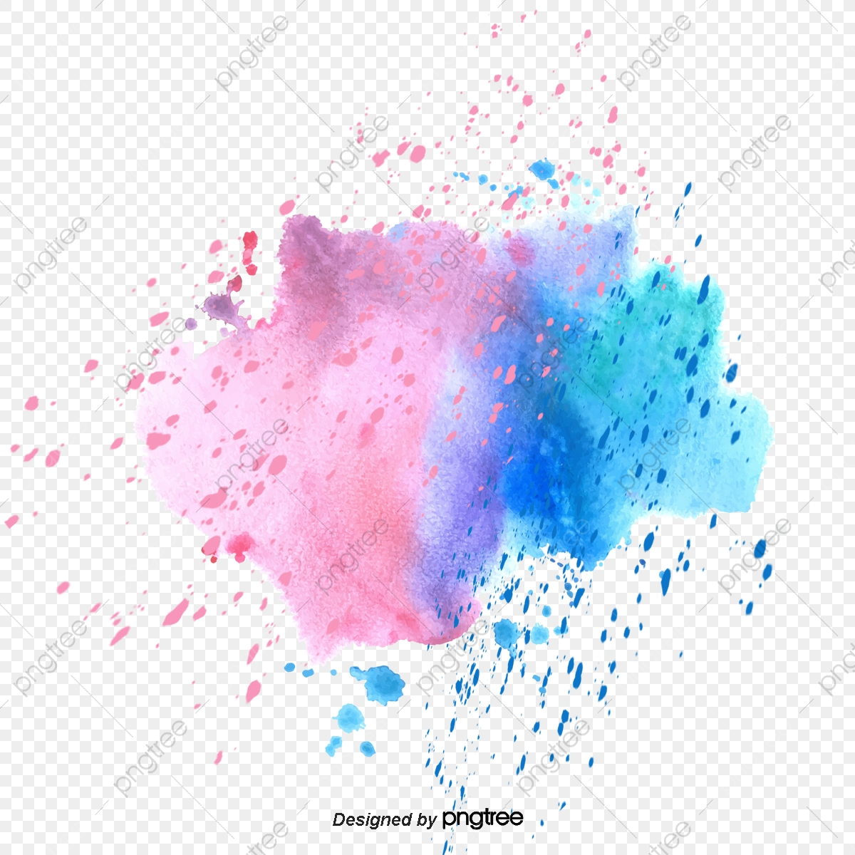 Watercolor Splash PNG Images   Vector and PSD Files   Free ...