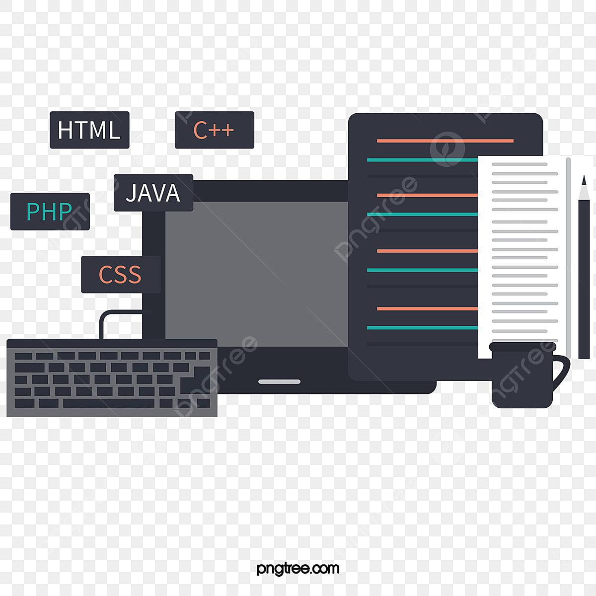 Le Programme Informatique De Vecteur Clipart Informatique Haute Definition Vecteur Fichier Png Et Psd Pour Le Telechargement Libre