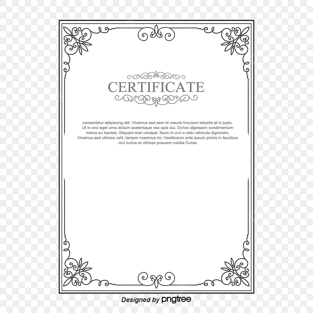La Lettre De Nomination De Vecteur De Certificat Européen De