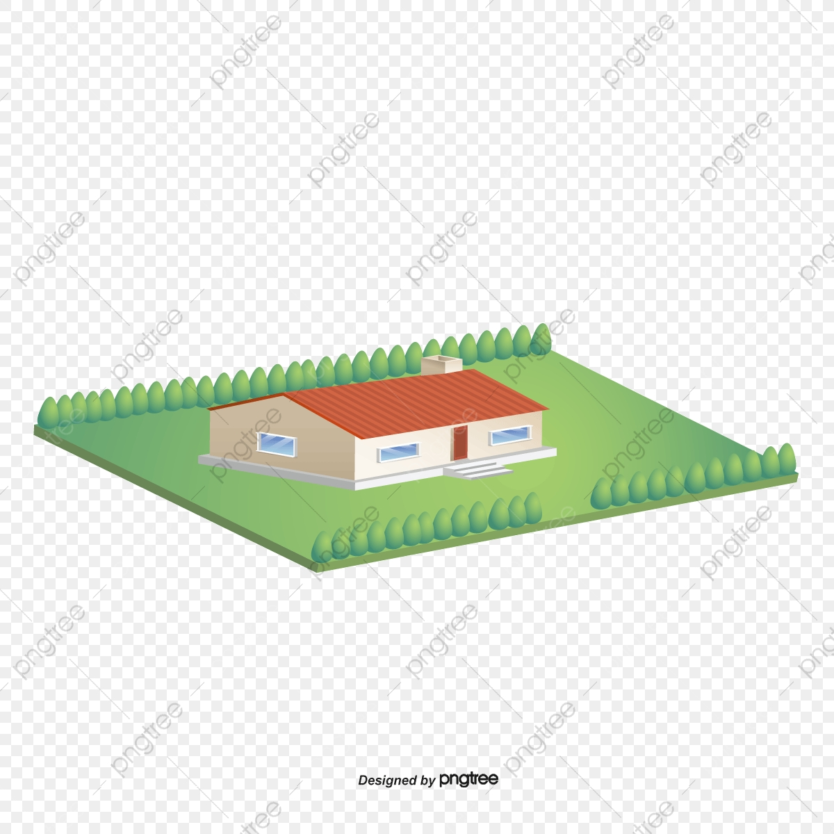 Vector Houses, 3d House, Cartoon House, House Model PNG and