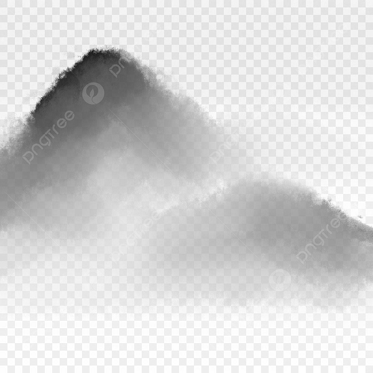 ベクトル山脈風景イラスト 線山 手描きの高山 峰画像素材の無料