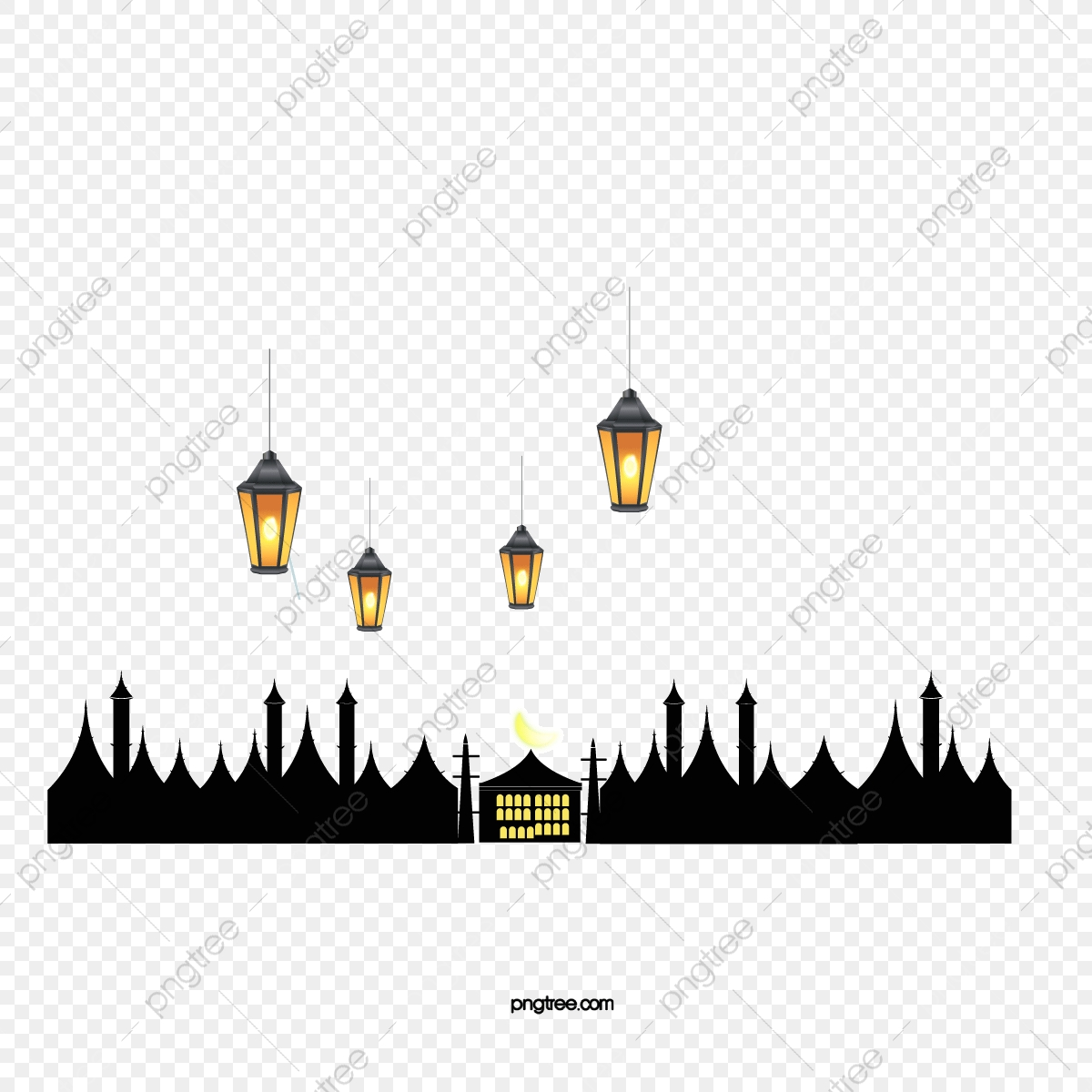 Vector Islam, Hd, Vector, Chandelier PNG And Vector With Transparent  Background For Free Download