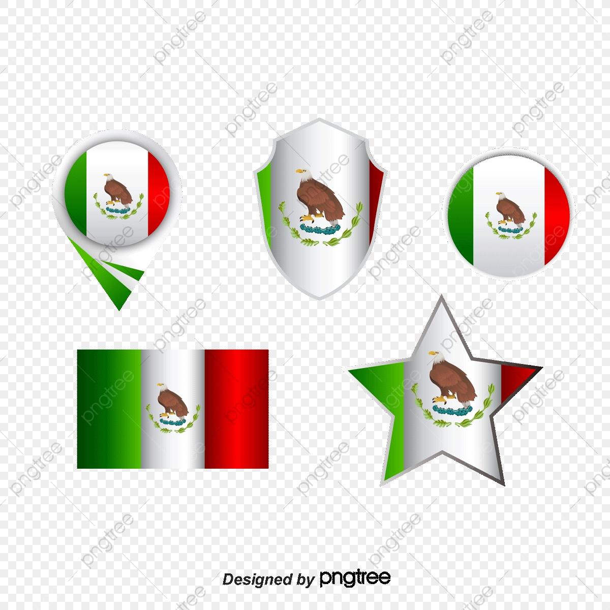 Mapa Vectorial Y La Bandera De México Mapa Bandera Banner Png Y